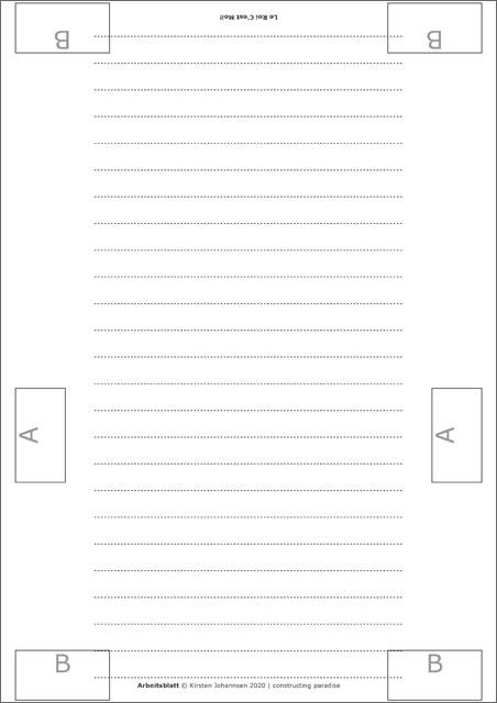 Anleitung, Papierkrone