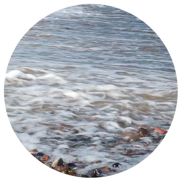 meer, strand